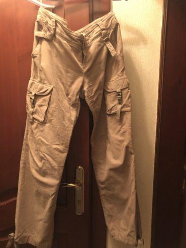 Женские вельветовые брюки Манго, 36 размер в Бишкек