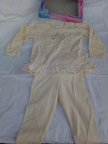 Dečija odeća i obuća - Vladicin Han: Kompletići po 300 din.Prvi novi samo skinuta etiketa, cena