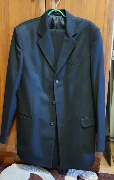 Продаю мужской костюм 50-52 размера, почти новый, сшитый на заказ, в