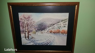 Slika akvarel- dim.60×40 - Nis