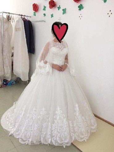 Свадебные платья - Токмак: Продаю оптом свадебные платья. Платья б/у состояние хорошее. 4 платья