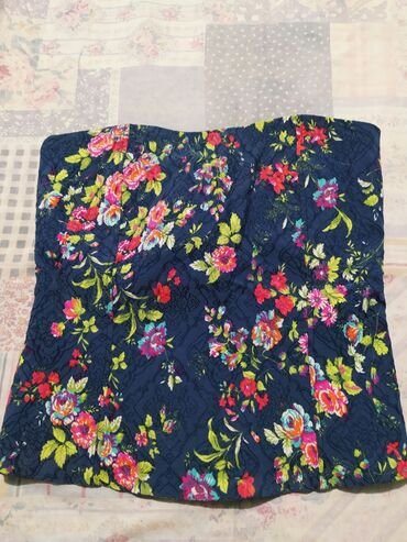 Tube tops floral. Size Small