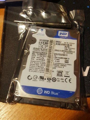 "Western Digital 500 GB 2.5"" Hard disk- Western Digital - WD- 2.5"" Hard"