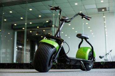 Hot Electric E-scooter Citycoco With Fat Tires 1200W 50km 48km/h H7 в Жовид