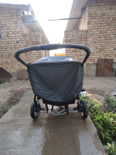 Детский мир - Ала-Тоо: Состояние хорошое, для двойняшек  Эгиздерге коляска