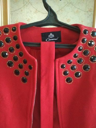 Пальто состояние идеальное, носила раза два, размер 42-44. турецкая . в Бишкек
