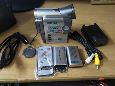 видеокамера миниатюрная в Кыргызстан: Цыфровая видеокамера  Sony DVX-801. г.Токмок watsapp