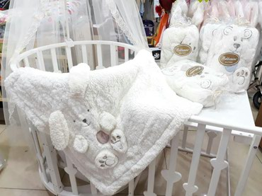 Пледики одеялки производство Турция в Бишкек