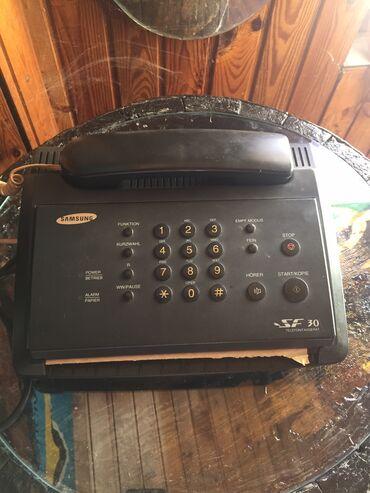 Veliko spremanje tavana! Prilicno star tel/fax. Samsung, made in
