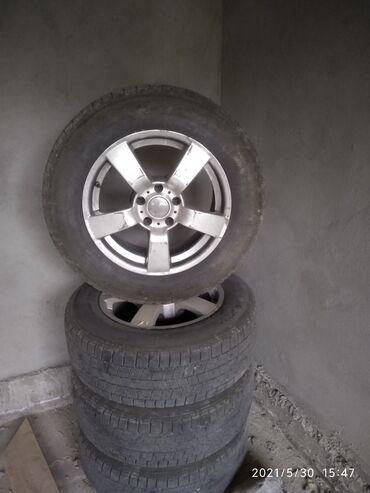 12194 объявлений: Продаю колеса R 17. 235/65. На зимней резине 4шт. Были на Х5 Е 53