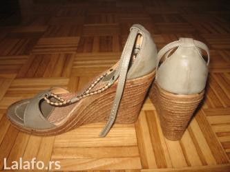 Ženska obuća | Obrenovac: Sandale bukvalno dva puta obuvene, br. 38