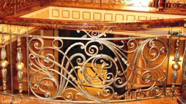 Художественная ковка-перила, решетки, мебель и т. д  в Бишкек