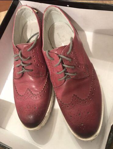 Продаю женские кожаные туфли, надевались пару раз