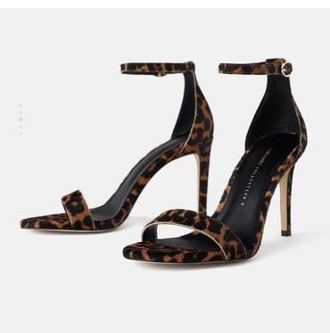 Продаю очень удобные босоножки Zara 37 размер (маломерит) подойдет на