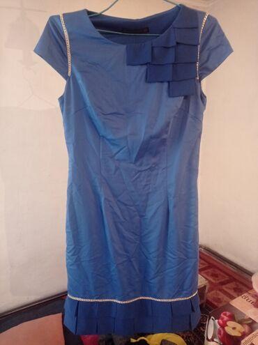 полосатая туника в Кыргызстан: Все вещи по 60 с 1. Синее платье атлас Euro 38 p 150с2.Серый костюм