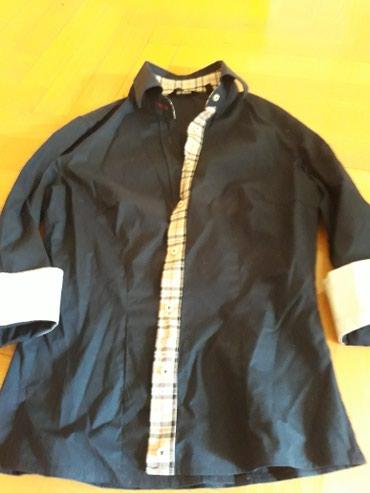 Košulja kao nova s vel teget 3/4 rukavi prelepa još slika na viber - Belgrade