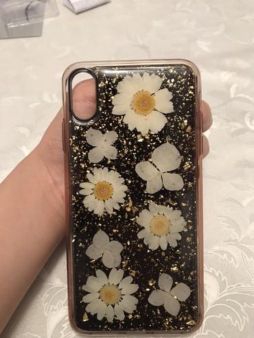 jbl-чехол в Кыргызстан: 3 D Чехол на айфон ХS max, силиконовый почти как новый, качество 100%