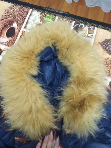 женский пуховик с капюшоном в Кыргызстан: Женский пуховик . Наполнитель- пух. размер 46 - 48 . Производство