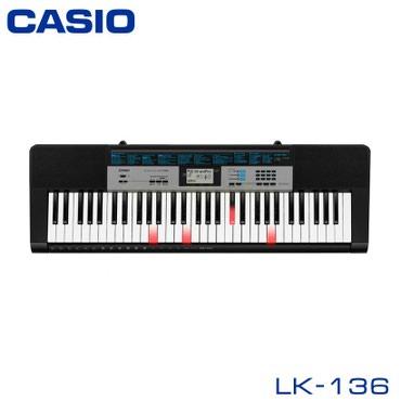 Синтезатор Casio LK-136— это портативный в Бишкек