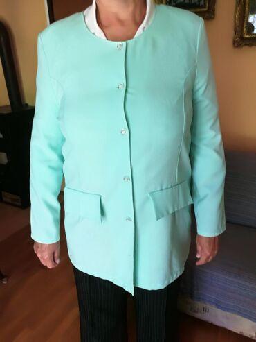 Kostimi - Srbija: Komplet sako i suknja plavi