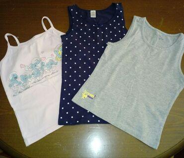 Dečija odeća i obuća - Indija: Tri majice br.110