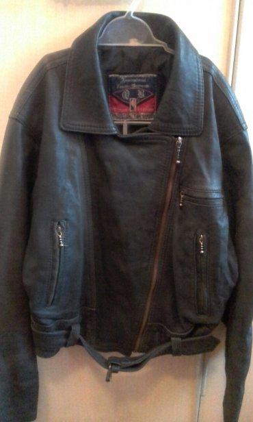 куртка деми. кожаная 100 проц. б.у. в хорошем состоянии  раз.48. 400 с в Бишкек