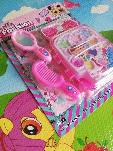 Barbie set - Crvenka: LOL set za šminkanje – koferčić cena 650 dinLOL Set kofer za