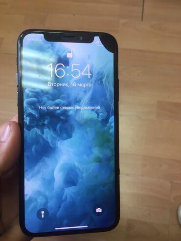 IPhone X | 256 GB | Qara | İşlənmiş | Simsiz şarj