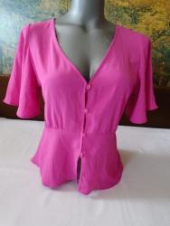 Bershka bluza - Srbija: Bershka damska peplum košiljica, S veličine