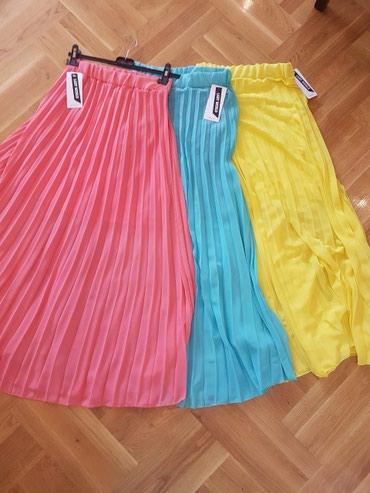 Nove Italijanske plisirane, duge suknje, u raznim bojama. Suknje imaju - Pancevo