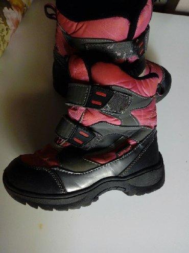Decje cizme za sneg br. 29 Kupljene u Safranovoj radnji. Oštećenja - Crvenka