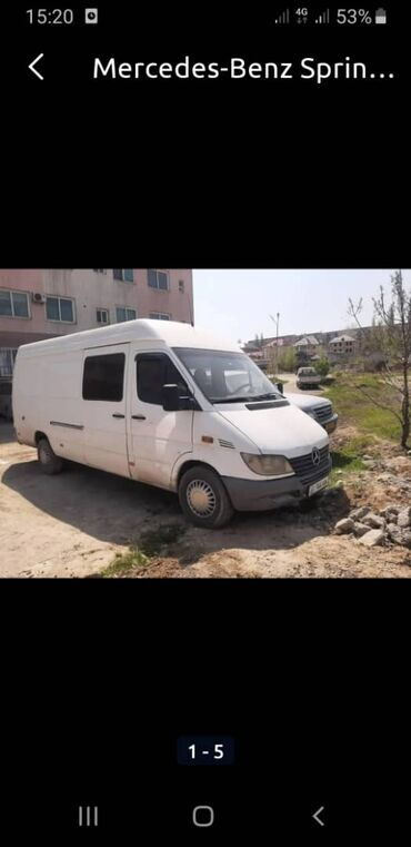 Mercedes-Benz Sprinter 2.2 л. 2004 | 217 км