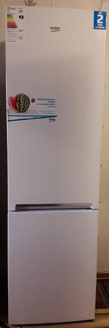 beko кофемашина в Кыргызстан: Б/у Двухкамерный Белый холодильник Beko
