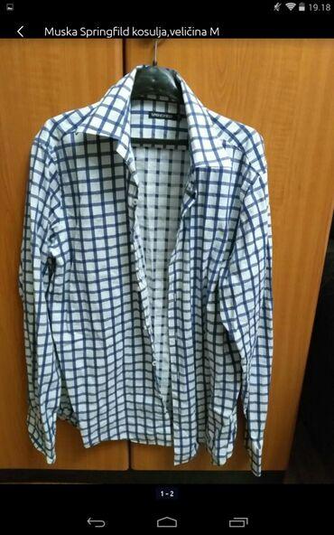 Muška odeća | Obrenovac: Muška Springfild kosulja veličina M