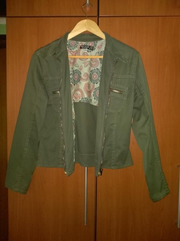 Tanka jakna, velicina XL. 98% pamuk, 2% elastin. Novo.  - Nis