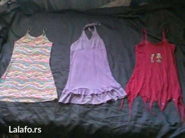 Tri haljinice vel. 6 - Prokuplje