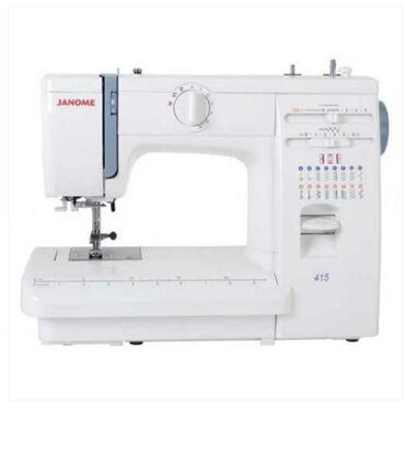 веритас швейная машинка в Кыргызстан: Продаю бытовую машинку janome модель415 . Корпус железный, челнок