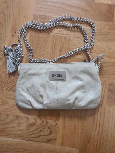 Mona kožna torba kao nova par puta nošena