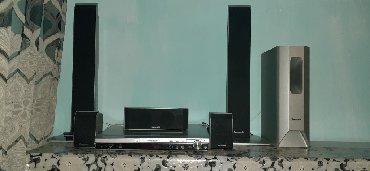 Динамики и музыкальные центры в Кара-Балта: СРОЧНО Прадаю Дамашный кинотеатр Panasonic 6,1 полный комплект с пульт