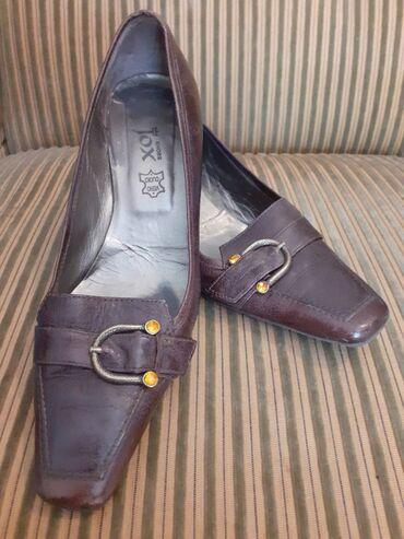 Cipela sa snalom jako udobna.Visina stikle3cm