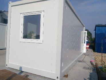 Gradjevinski poslovi - Srbija: Argus EKONOMIK, kontejneri sa krovom od sendvič panelaEKONOMIK
