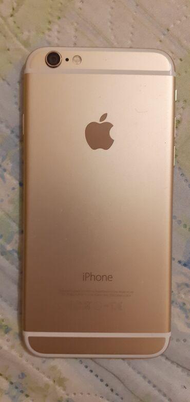 Apple Iphone - Бишкек: Б/У iPhone 6 16 ГБ Розовое золото (Rose Gold)