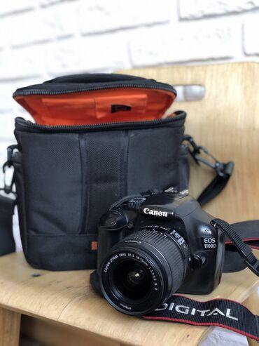 Продаю фотоаппарат Canon 1100D (отдельно продаю сумку), в комплекте н