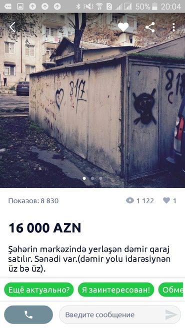 Bakı şəhərində Qarajlar
