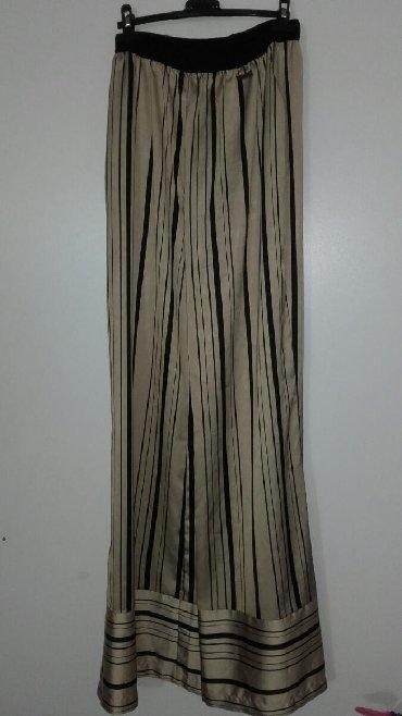 Bele-siroke-pantalone - Srbija: PS fashion siroke pantalone velicina 42, jednom su obucene