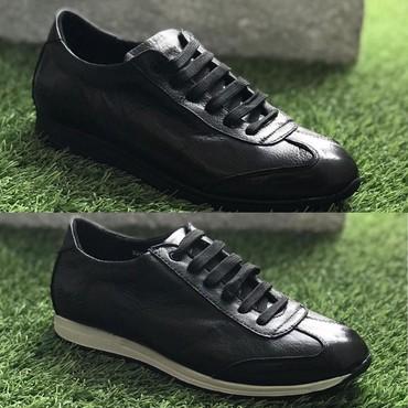 Кроссовки и спортивная обувь - Кок-Ой: Мужские кожаные кроссовки