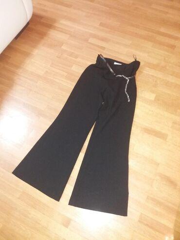 Svecane pantalone - Srbija: Svecane pantalone sa kaisem,velicina 36