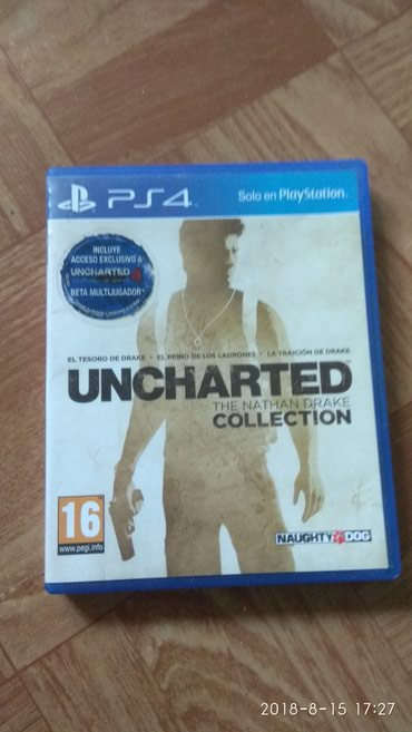 Продаю uncharted collection б.у. Рус. суб.титры или меняю  в Бишкек