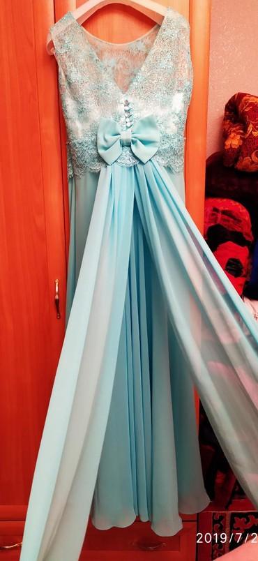 вечерние платья для свадьбы в Кыргызстан: Нереально красивое вечернее платье размер 44, 46. Одевала один раз на