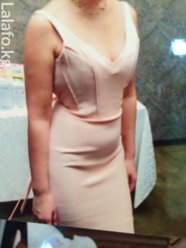 Платья одевала один раз на кыз узатуу. Цвет пудра. в Бишкек